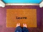 leave mat